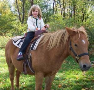 1 Child Pony 1 L