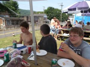 4 Refreshments Swim Aug