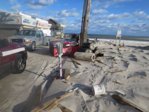 6 Hurricane Damage on Beach