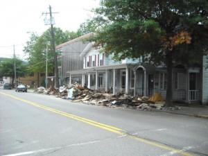 z 5 Flood Damage in Shickshinny