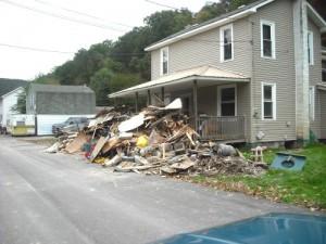 z 7 Flood Damage in Shickshinny