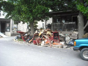 z 9 Flood Damage in Shickshinny